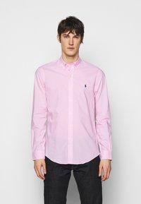 Polo Ralph Lauren - NATURAL - Shirt - pink/white - 0