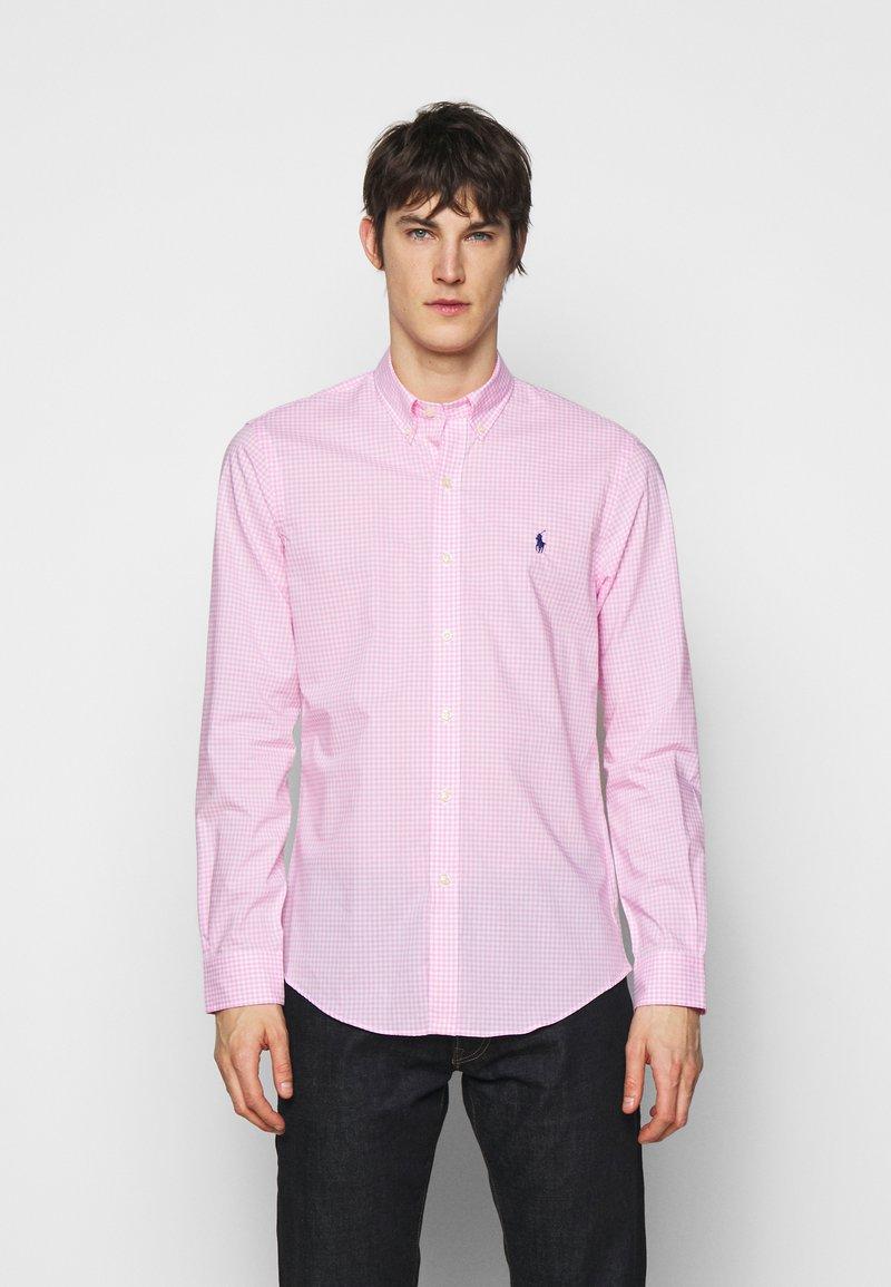 Polo Ralph Lauren - NATURAL - Shirt - pink/white