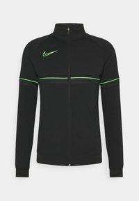 Nike Performance - Survêtement - black/green strike - 1