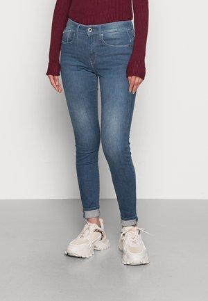 HANA SKINNY - Jeans Skinny Fit - worn in gravel blue