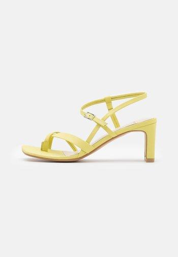 LUISA - Sandals - lemon
