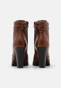 Anna Field - LEATHER - High heeled ankle boots - dark brown - 3