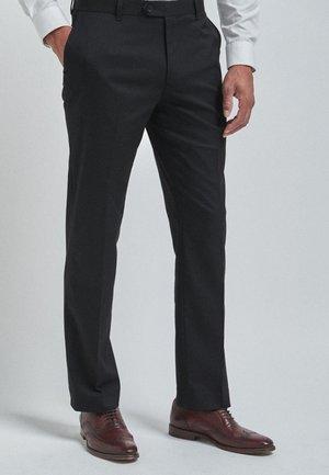 WITH STRETCH - Pantaloni - black