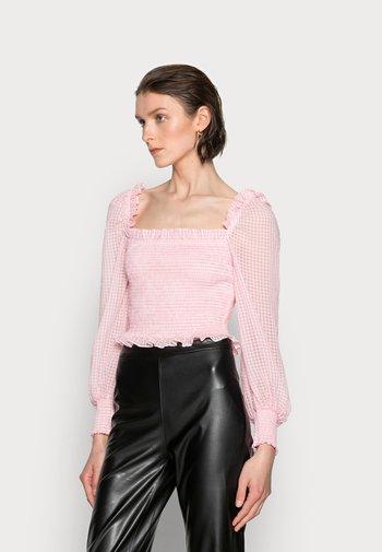 LUISA - Blouse - candy pink