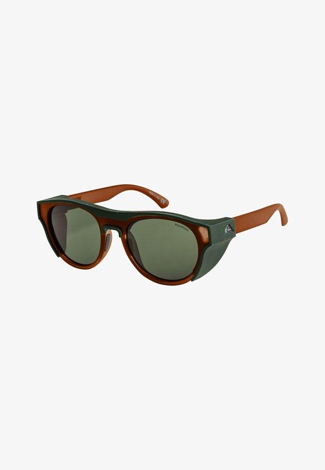 ELIMINATOR POLARIZED+ - Sunglasses - brown/dark green