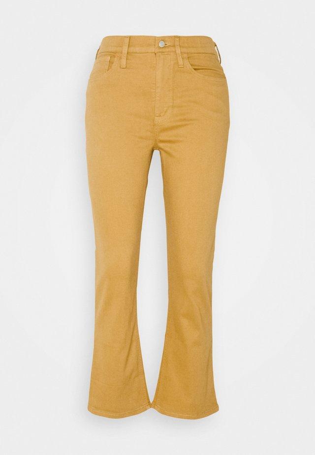 BILLIE PANT - Trousers - honey brown