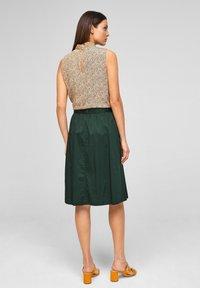 s.Oliver BLACK LABEL - A-line skirt - leaf green - 2