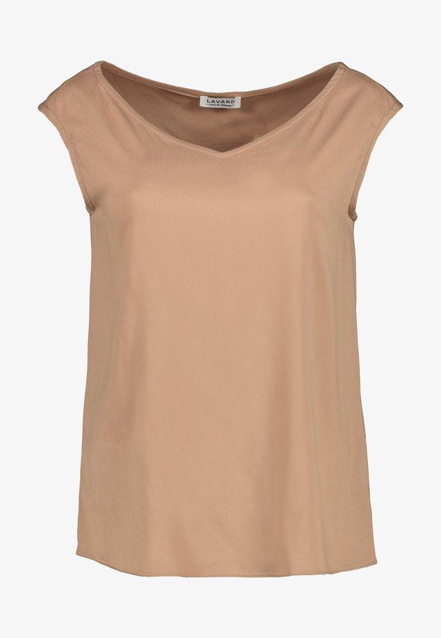 BLUSE - T-shirt basic - beige