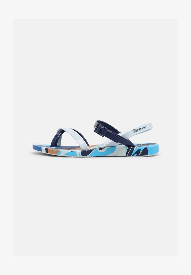 FASHION SAND VII KIDS - Pool shoes - blue