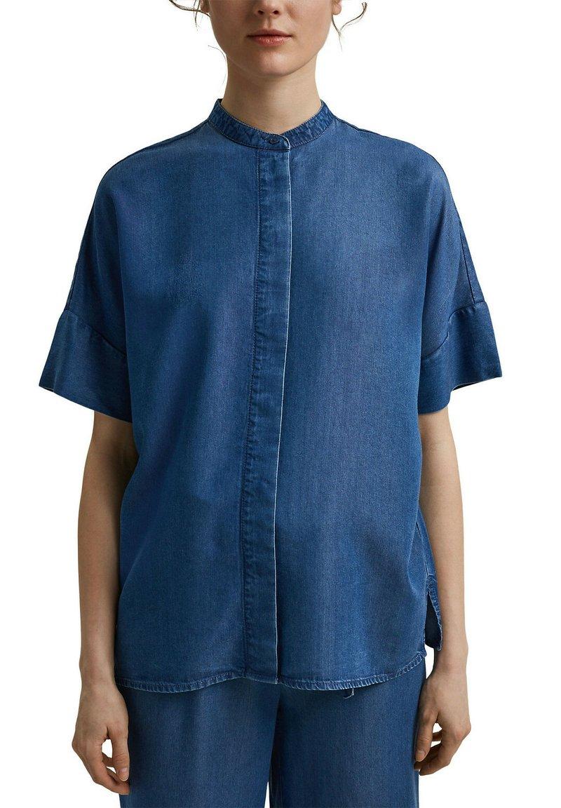 Esprit Collection - Blouse - blue medium washed