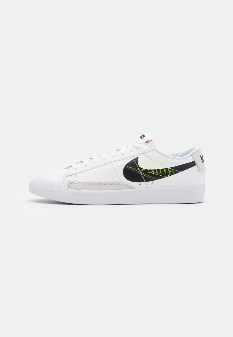 Nike Sportswear - BLAZER UNISEX - Sneakers - white/black/volt/summit white