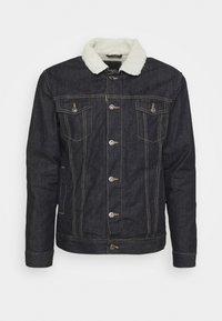 LARSONBORG - Winter jacket - dark blue denim
