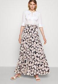 Diane von Furstenberg - LILLIAN SKIRT - Maxi skirt - black - 3