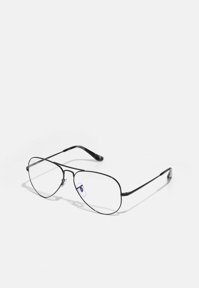 BLUE LIGHT UNISEX - Brýle s filtrem modrého světla - black
