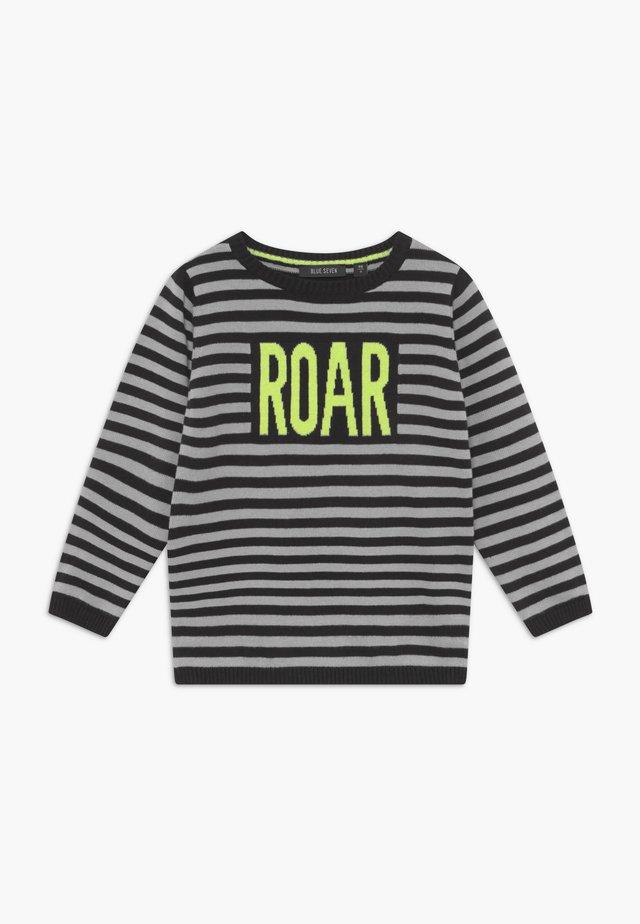 KIDS ROAR DINOSAUR  - Sweter - black
