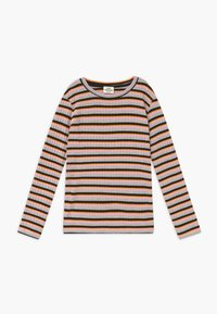 Mads Nørgaard - DREAM STRIPE TALIKA - Long sleeved top - rose multicolor - 0