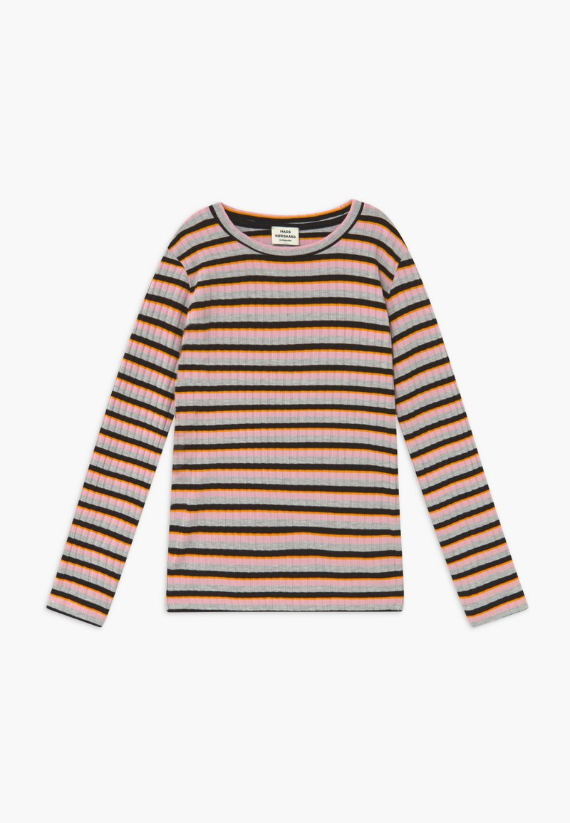 Mads Nørgaard - DREAM STRIPE TALIKA - Long sleeved top - rose multicolor