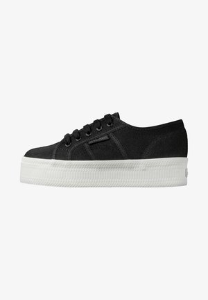 Trainers - black white