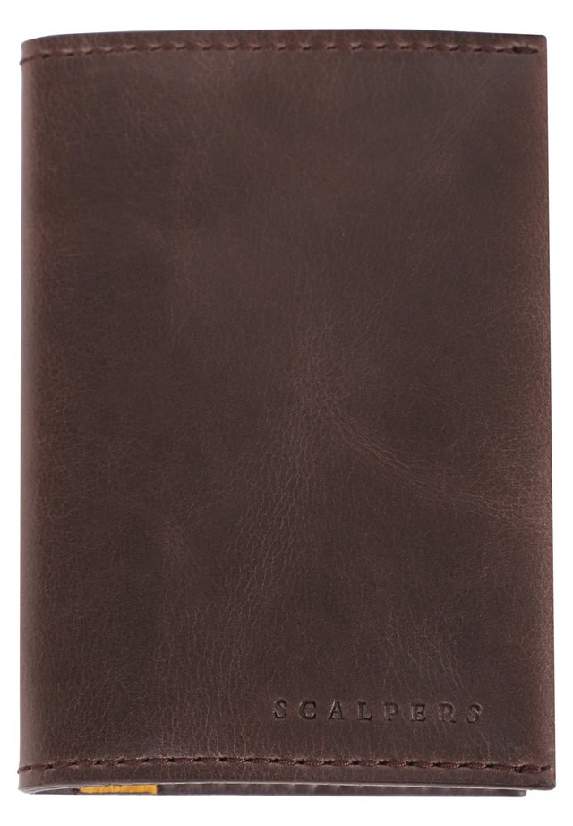 WITH BACK SLOT - Portefeuille - brown