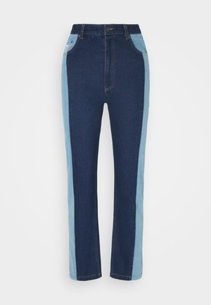 OG BLOCK DENIM PANTS  - Relaxed fit jeans - blue