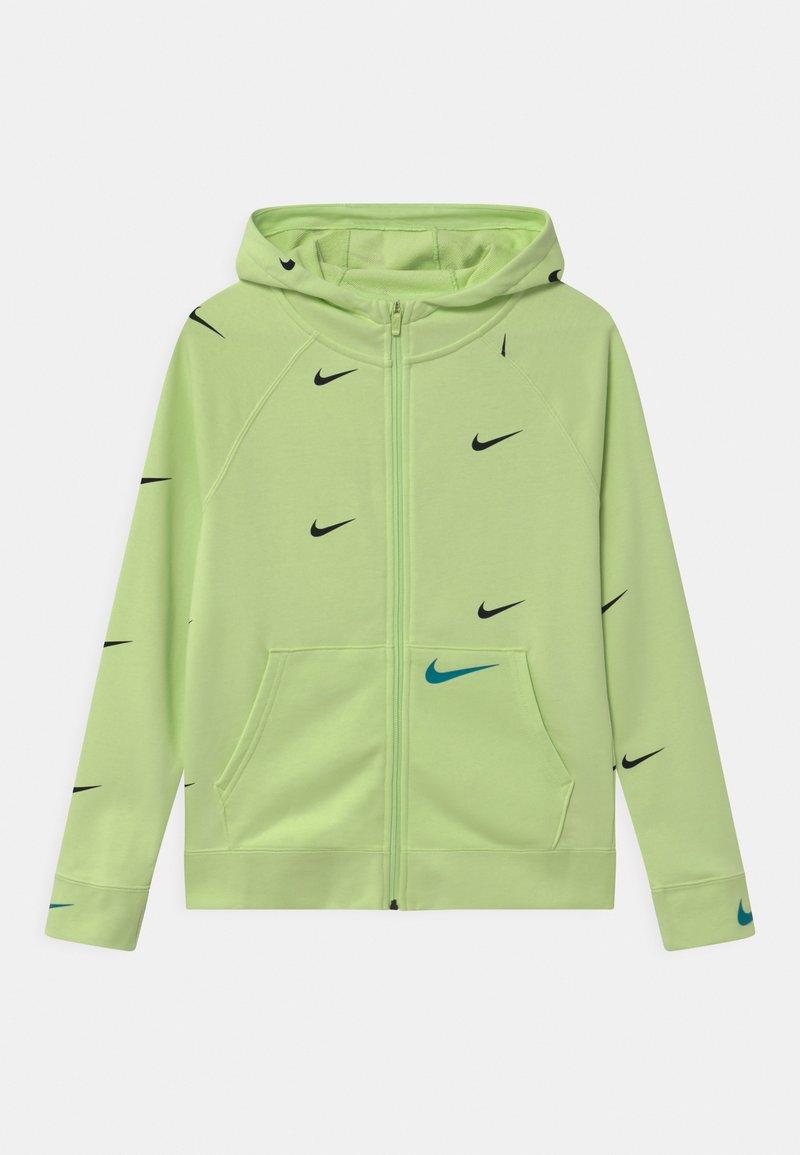Nike Sportswear - Zip-up sweatshirt - light liquid lime/aquamarine