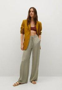 Mango - Pantalon classique - verde - 1