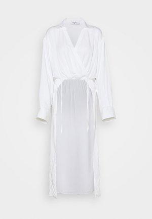 OVERLAP FRONT BLOUSE - Blouse - white