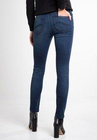 Lee - SCARLETT - Jeansy Skinny Fit - mottled blue - 2