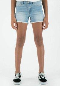 Garcia - RIANNA - Denim shorts - stoned blue - 0
