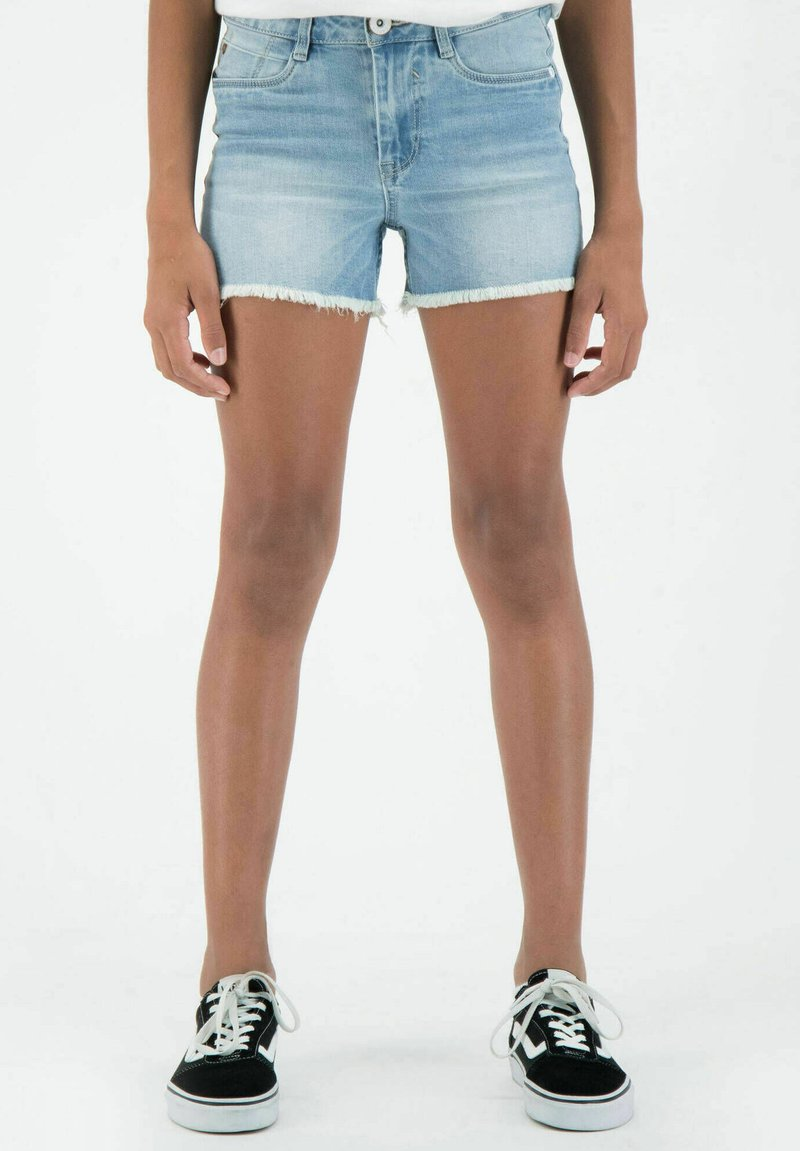 Garcia - RIANNA - Denim shorts - stoned blue