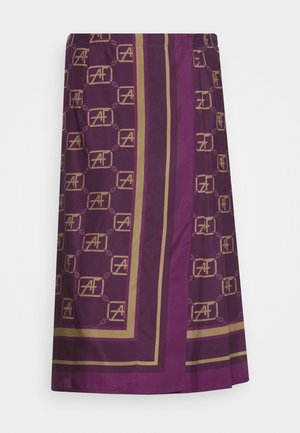SKIRT - A-linjainen hame - violet