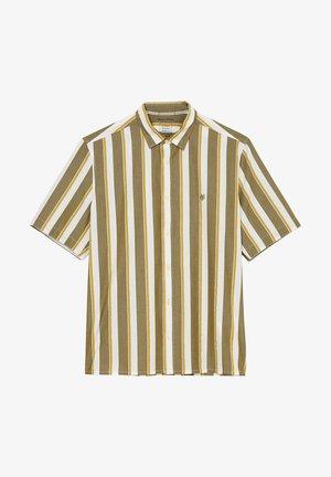 Shirt - multi mash brown