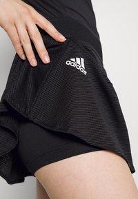 adidas Performance - MATCH SKIRT - Sports skirt - black/white - 4