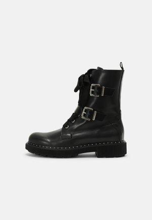 MARINAIO - Cowboy/biker ankle boot - black