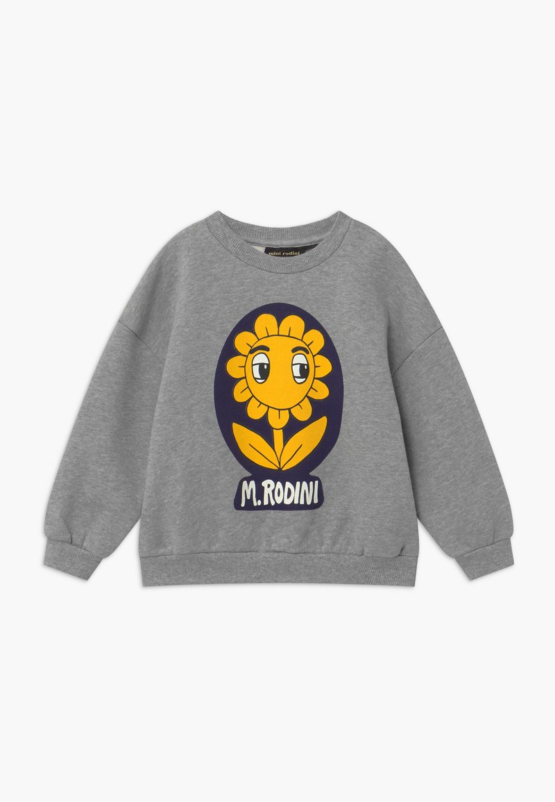 Mini Rodini - FLOWER - Sweatshirt - grey melange