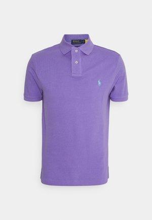 CUSTOM SLIM FIT MESH POLO - Pikeepaita - hampton purple
