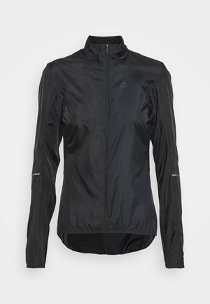ESSENCE LIGHT WIND JACKET - Wiatrówka - black