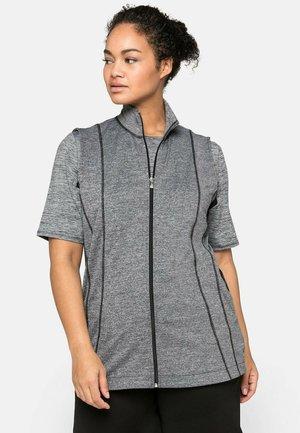 Waistcoat - grau-schwarz
