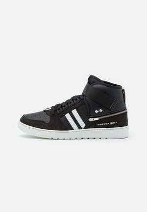 CONVERTIBLE  - High-top trainers - black/white