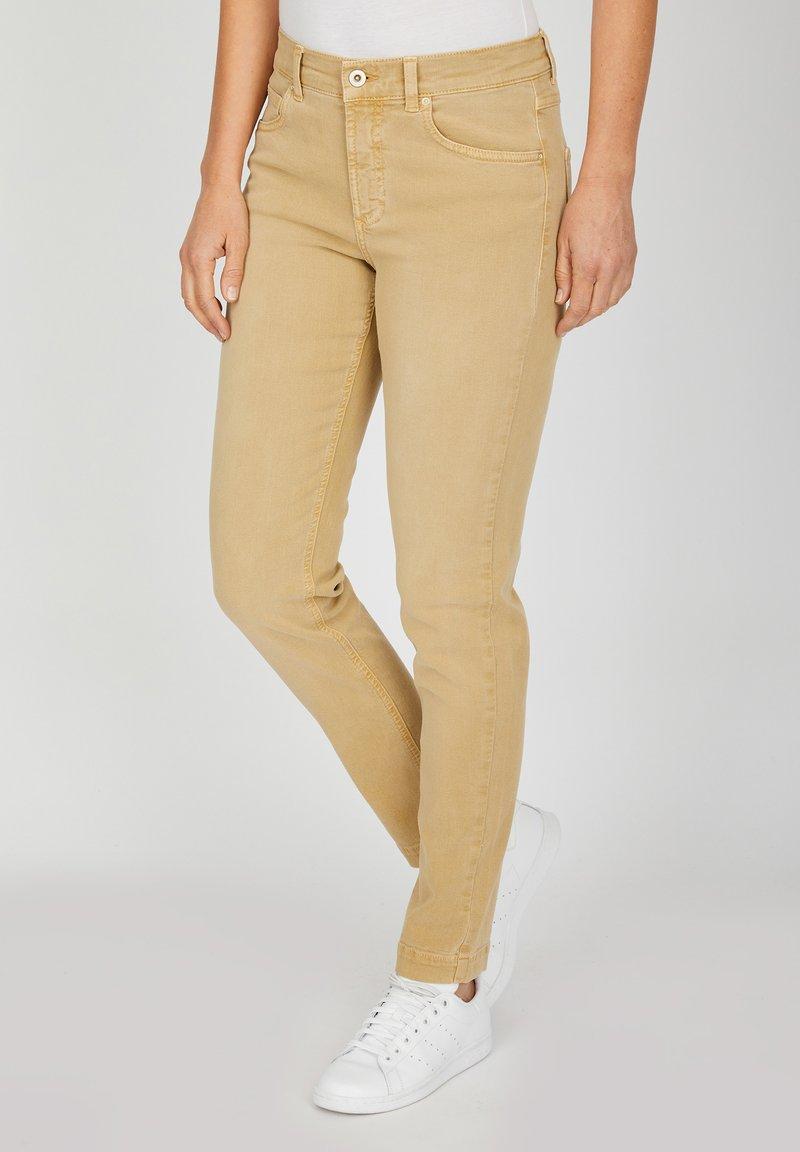 Angels - TAMA - Straight leg jeans - sand