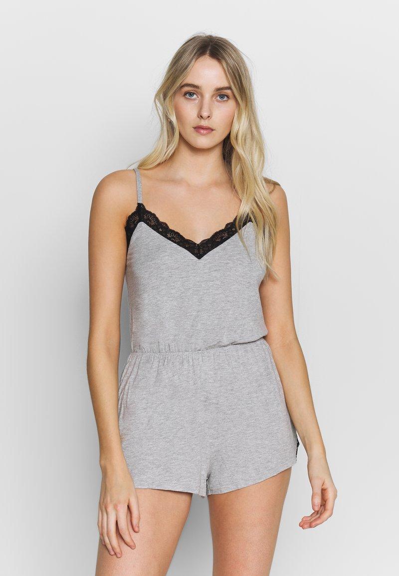 Pour Moi - SOFA LOVES SECRET SUPPORT PLAYSUIT - Pijama - grey marl