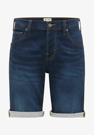 CHICAGO - Denim shorts - deep blue