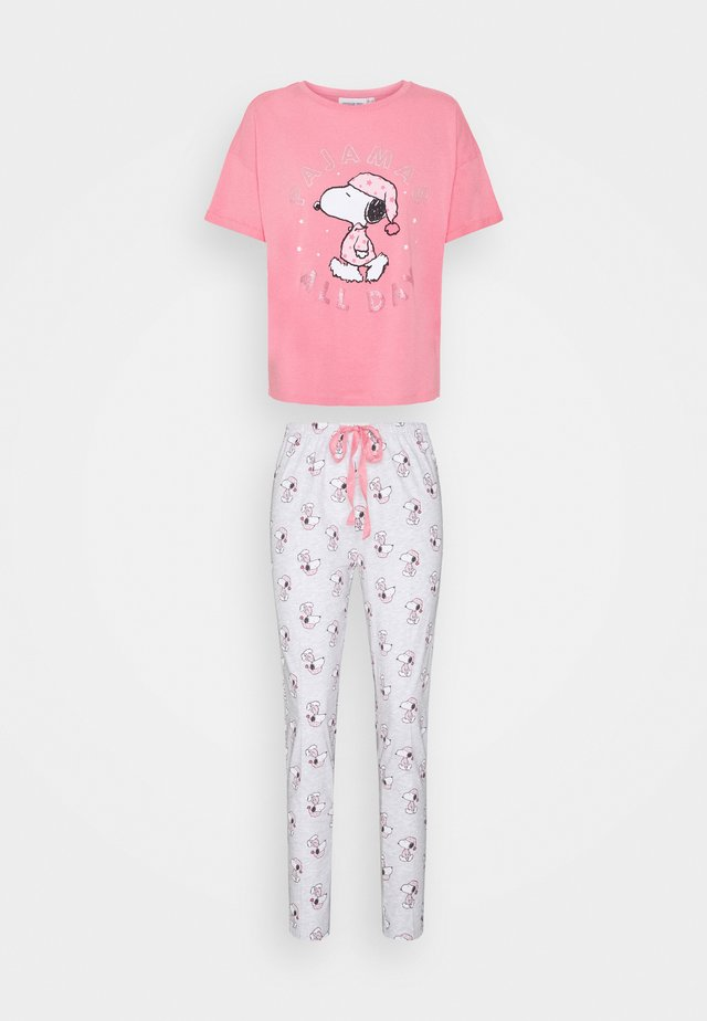 SET - Pyžamo - bubble gum