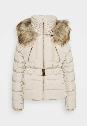 CHOUPINOU COURT - Down jacket - argile