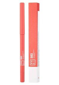 3ina - THE AUTOMATIC LIP PENCIL - Lip liner - 503 brown - 1