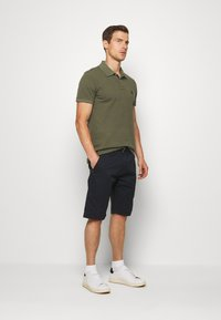 Benetton - SLIM - Polo shirt - dark green - 1