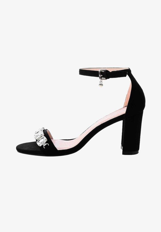 MACIOLLA  - High heeled sandals - black