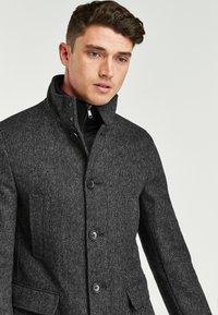 Next - FUNNEL NECK - Short coat - grey - 2