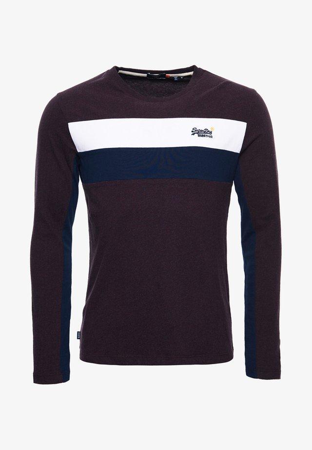 ORANGE LABEL ENGINEERED  - Langærmede T-shirts - autumn blackberry marl