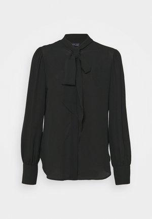 BLOUSE - Overhemdblouse - black